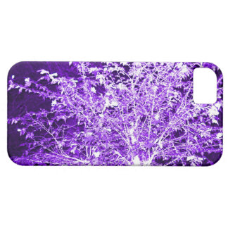 Purple Violet Abstract Tree Branches iPhone 5 Case