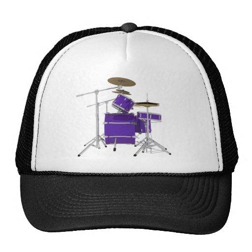 Purple / Violet Drum Kit: Trucker Hat