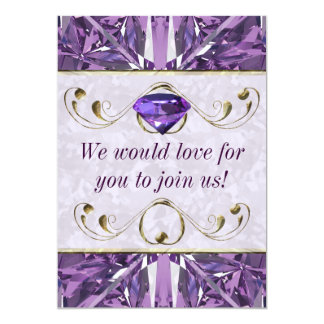 Purple, Violet Gem Card