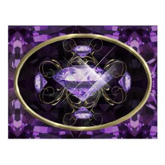 Purple, Violet Gem Collector Card