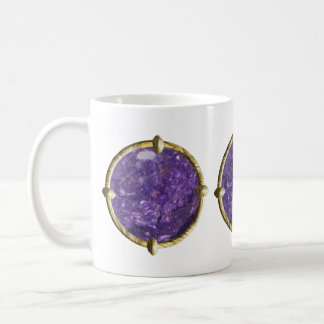 Purple, Violet Gem Coffee Mugs