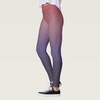 Purple Violet Gradient Leggings