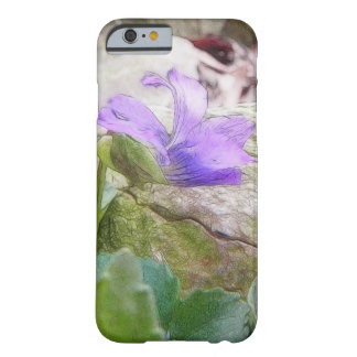 Purple Violet In The Rock Garden Barely There iPhone 6 Case