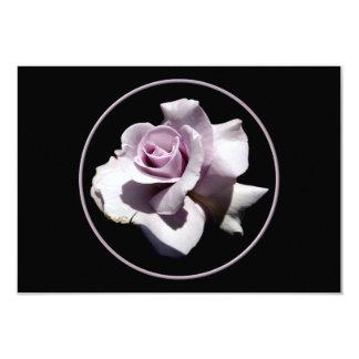 Purple - Violet Rose 3.5x5 Paper Invitation Card