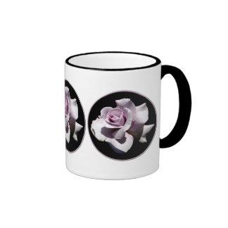 Purple - Violet Rose Coffee Mugs