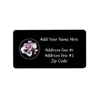 Purple - Violet Rose Label