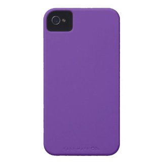 Purple Violet Solid Background Color Code 663399 iPhone 4 Cover