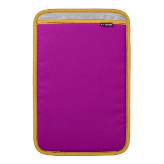 Purple & Violet -Vintage Flags & Maps MacBook Sleeve