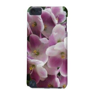 Purple Violets iPod Touch Case