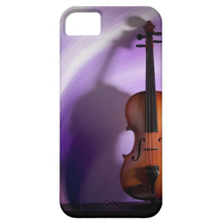 Purple Violin Phone Case Cover For iPhone 5/5S