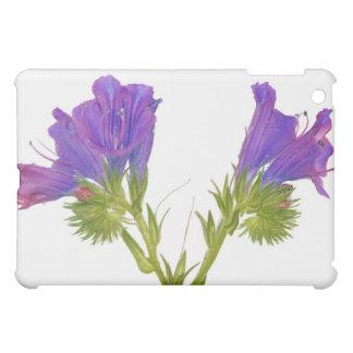 Purple vipers bugloss (echium plantagineum) iPad mini cases