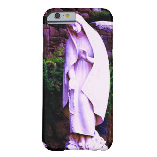 Purple Virgin Mary Statue Barely There iPhone 6 Case