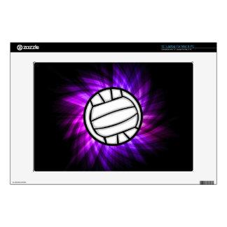 "Purple Volleyball 13"" Laptop Skins"