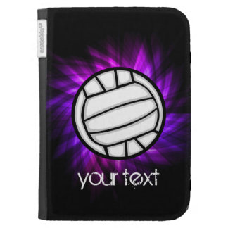 Purple Volleyball Cases For The Kindle