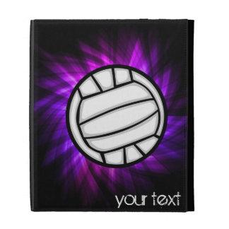 Purple Volleyball iPad Folio Covers