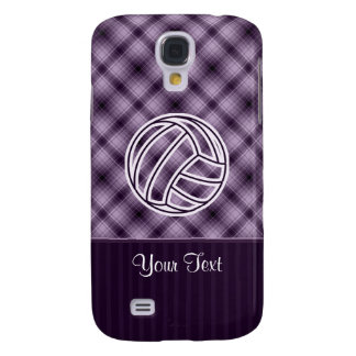 Purple Volleyball Galaxy S4 Case