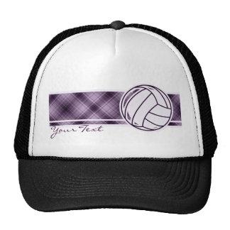 Purple Volleyball Trucker Hat