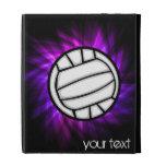 Purple Volleyball iPad Case