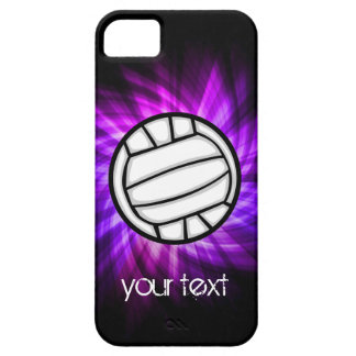 Purple Volleyball iPhone SE/5/5s Case