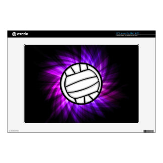 "Purple Volleyball Skins For 13"" Laptops"