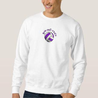 Purple Volleyball Sweatshirt