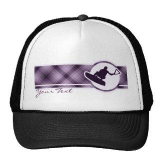 Purple Wakeboarder Trucker Hat