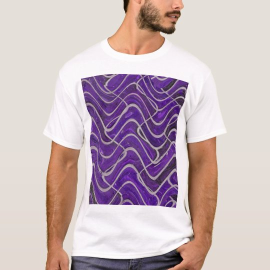 purple wall astract T-Shirt