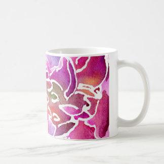 Purple Wallflower Mug