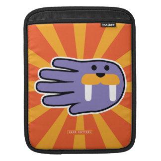 Purple Walrus Face iPad Sleeves