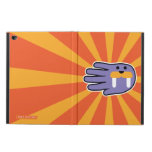 Hand shaped Purple Walrus Face Powis iPad Air 2 Case