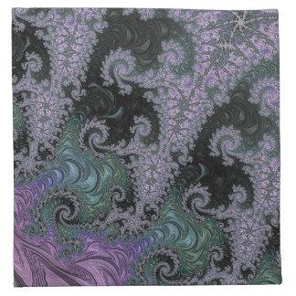 Purple Wanderer Napkin Dining Room Design