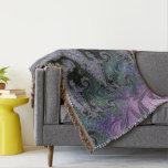 Purple Wanderer Throw Rug Living Room Design