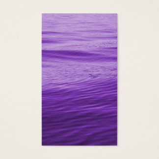 Purple Water Business Card