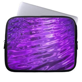 Purple Water Computer Sleeve