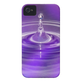 Purple Water Drop iPhone 4 Case-Mate Cases