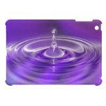 Purple Water Drop Cover For The iPad Mini