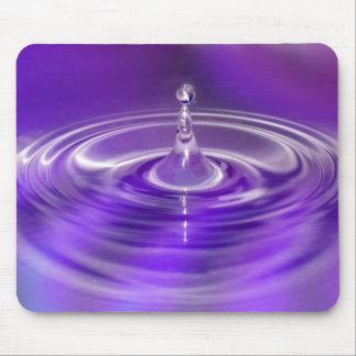 Purple Water Drop Mousemat