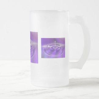 Purple Water Drop Coffee Mugs