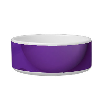 Purple Water Drop Pattern Bowl