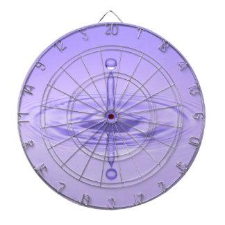 Purple Water Drop Reflection Limitless Ocean Love Dartboards