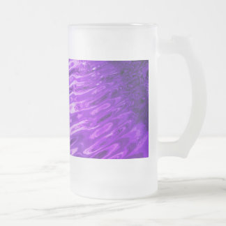 Purple Water Glass Frosted Glass Beer Mug