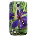 Purple Water Iris Galaxy S4 Case
