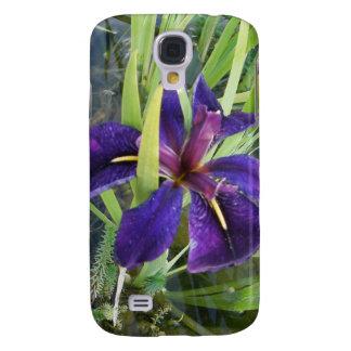 Purple Water Iris Samsung Galaxy S4 Case