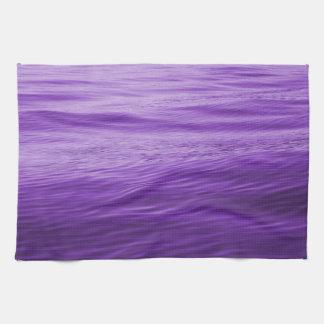 Purple Water Kitchen Towels