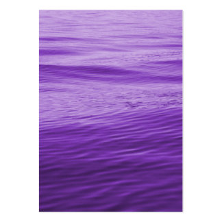 Purple Water Large Business Cards (Pack Of 100)