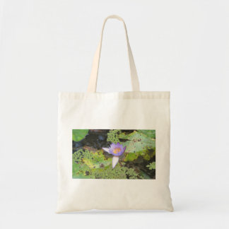 Purple Water Lily Bag