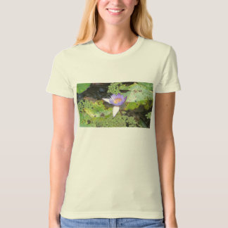 Purple Water Lily T-shirt