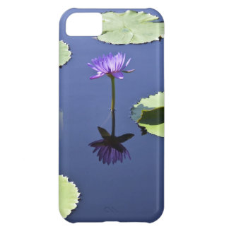 Purple Water Lily with Reflection iPhone 5C Case