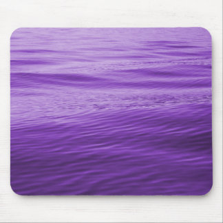 Purple Water Mouse Pad