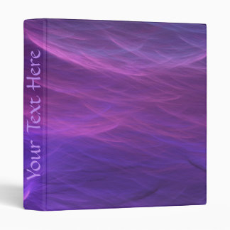 Purple Water Soft Waves Binder